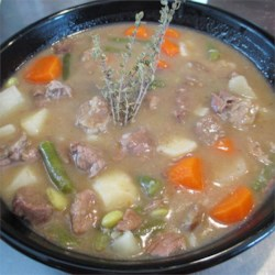 Granny's Beef Stew Recipe - Flavorful and filling beef stew. Best if made the day before serving.