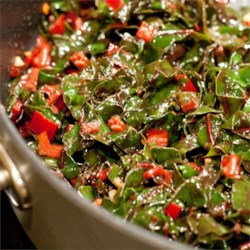 Lemon-Garlic Rainbow Chard Recipe - I love greens, garlic, and lemon! This blends all three for an awesome-tasting side dish.