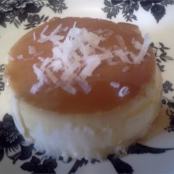 Coconut Cheese Flan (Flan de Coco y Queso)