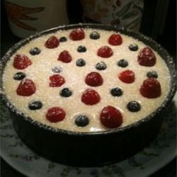 White Chocolate Cheesecake with White Chocolate Brandy ...