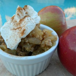 Minnesota Apple Crisp Recipe - A simple apple crisp without oats, this recipe has only 6 ingredients. To make it exactly right, hunt out crisp, tart Haralson apples from Minnesota.
