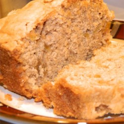 Apple Bread Recipe - Fresh apple chunks spike this quick bread sure to be a hit with the entire family.