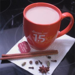 Chai Tea Latte Recipe - Make a homemade version of a chai tea latte with boiling water, milk, sugar, honey, and a tea bag.