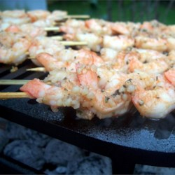 Marinated Grilled Shrimp 01