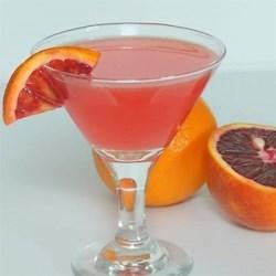 Vicki's Tangerine Martini