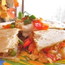 Cheesy Chipotle Chicken Quesadillas