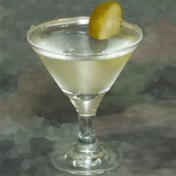 Dill Pickle Martini Recipe - The tangy juice of the dill pickle suits the dry flavor of vodka in this 3-ingredient martini.