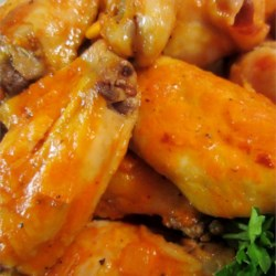 Vinnie's Spicy Buffalo Wings Recipe - This buffalo wing sauce recipe name says it all, only for the hot at heart!