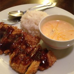 Lucy's Quick Tonkatsu Sauce Recipe - I created this sauce in my own kitchen with ingredients I already had in my cupboard. The results are delicious and it has become a staple in my home. This recipe can easily be doubled. Try using it for dipping katsu chicken and egg rolls, or use it as a substitute for barbeque sauce. I hope you enjoy it as much as we do!