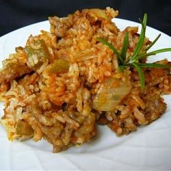 Sausage and Red Rice
