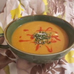 Thai Carrot and Broccoli Soup