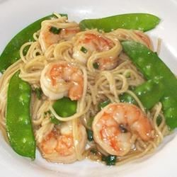 Shrimp Lo Mein Recipe - This lo mein recipe uses spaghetti and shrimp in a soy and hoisin sauce mixture for a quick and tasty Asian-style dinner.