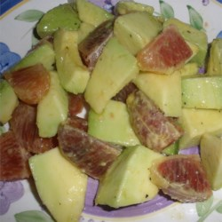Blood Orange and Avocado Salad Recipe - Blood oranges are only in season a few times a year, so take advantage by making a beautiful, flavorful, and simple salad.
