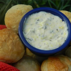 Lemon Herb Butter Recipe - Unsalted butter combined with lemon zest, rosemary, thyme, and sage makes a nice spread for rolls or a flavorful ingredient for cooking.