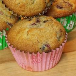 Cute Cranberry Tangerine Muffins
