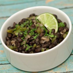 Cuban-Style Black Beans Recipe - This recipe makes a delicious side dish when paired with yellow rice.