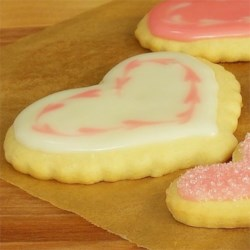 Siri's Heart Sugar Cookies Recipe - Try this recipe for your next Christmas-time roll-out cookie-baking adventure.