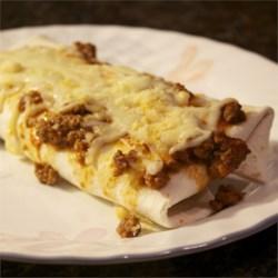 Lasagna Burrito