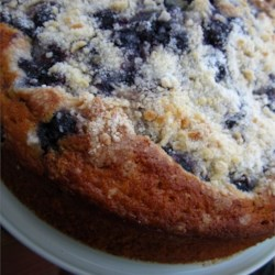 Blueberry Boy Bait Recipe - A delightful light cake topped with blueberries and streusel. Similar to a blueberry buckle yet has its own unique twist. Recipe dates back to the 1920's.