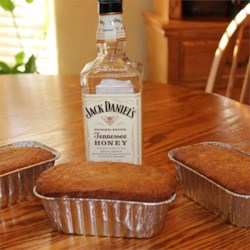 Jack Daniels Honey, Bacon Banana Bread -