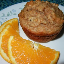 Scrumptious Bran Muffin Recipe - These muffins use bran cereal and yogurt, as well as some whole wheat flour, in place of other ingredients for a different kind of scrumptious muffin option.
