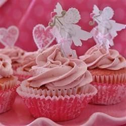 Strawberry Cake and Frosting I