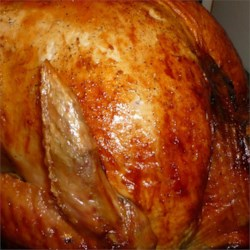 Easy Beginner's Turkey with Stuffing Recipe - This easy to make turkey is great for beginners, but experts will find it equally delicious. Adjust the cooking time for different sized birds.