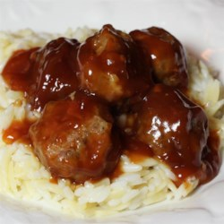 Connie's Sweet and Sour Christmas Meatballs
