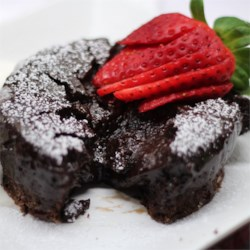 Chef John's Chocolate Lava Cake  Recipe and Video - Individual molten chocolate cakes are easy to make--and will impress any dinner guest!