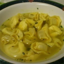 Tortellini Soup III Recipe - I love this simple cheese tortellini soup. It's great for the cool, bitter evenings of Fall, and is easy to do! Husbands can surprise their wives by cooking dinner one night. I just hope you try this and review it so I can find out how your family liked it. Enjoy!