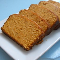 Granny's Sweet Potato Bread Recipe - Baked sweet potato add extra moisture and color to this sweet, spiced bread. Pecans are stirred into the batter and sprinkled on top for a nutty flavor.