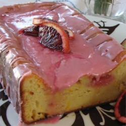 Blood Orange Yogurt Olive Oil Cake