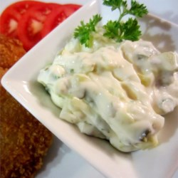 Jalapeno Tartar Sauce Recipe - Add some heat to your tartar sauce with the introduction of jalapeno peppers and hot sauce.