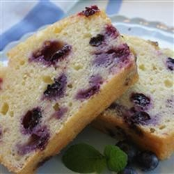 Blueberry Lemon Bread Recipe - The delightful combination of lemon and blueberries really jazz up this quick loaf cake.