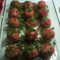 Meatball Nirvana ready for the oven