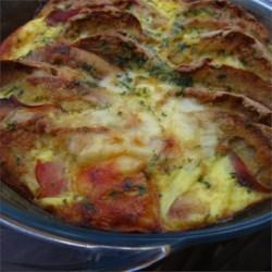 English Muffin Breakfast Strata