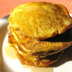 Paleo Pancakes Recipe - These pumpkin pancakes are paleo-friendly and seasoned with cloves, ginger, and cinnamon.