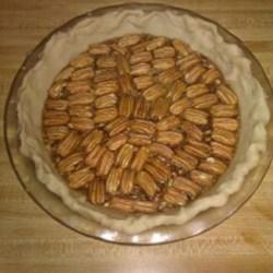 Irresistable Pecan Pie before baking