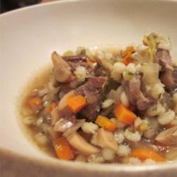 Venison Barley Soup