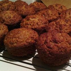 Date Flecked Orange Muffins