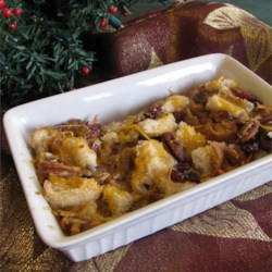 Christmas Bread Pudding Recipe - Try this egg-free bread pudding!
