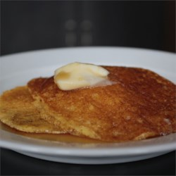 Batter Cakes Recipe - This recipe for old-fashioned cornmeal pancakes is quick and easy to make.
