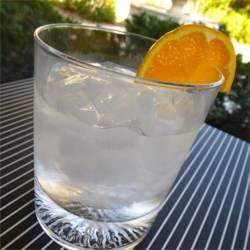 Flying Dutchman Cocktail Recipe - The Dutch aren't generally associated with flying, but this combination of gin and triple sec will make you want to soar to new heights.