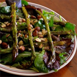 Microwave Asparagus Salad