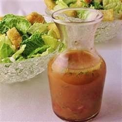 Tomato-Herb Vinaigrette Recipe - This diced tomato and fresh herb sauce is easy to make and is very versatile. Use it on salads, grilled meats, grilled fish hot or cold, vegetables hot or cold, pasta and warm pasta salads.