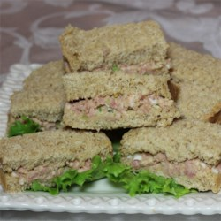 Ham and Egg Salad Sandwich Spread Recipe - This is a twist on traditional ham salad recipes for those who prefer dill pickles over sweet.
