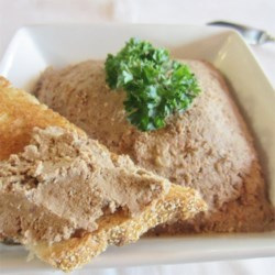 Chopped Liver the Real Mccoy Recipe - A rich and flavorful blend of beef and chicken liver. This makes for a great appetizer or spread for a pastrami and corned beef sandwich.