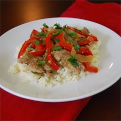 Cilantro and Pork Stir Fry
