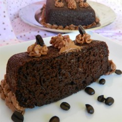 Grandma's Chocolate Marvel Cake Recipe - This chocolate cake tastes rich enough to be served without frosting.  Simply dust top with powdered sugar.