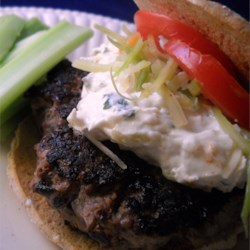 It's All In The Burger Recipe - Big, thick burgers are full of yummy ingredients like chopped mushrooms, red onion, and ketchup for savory flavors cooked right into the patties.